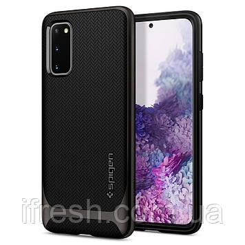 Чехол Spigen для Samsung Galaxy S20 Plus Neo Hybrid, Gunmetal (ACS00759)