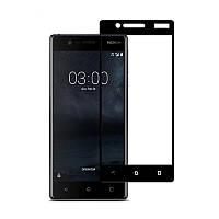 Захисне скло Glass Nokia 3 9D black