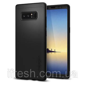 Чехол Spigen для Samsung Galaxy Note 8 Thin Fit 360, Black (587CS22098)