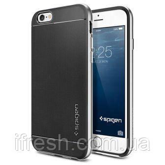 Чехол Spigen для iPhone 6s / 6 Neo Hybrid, Satin Silver