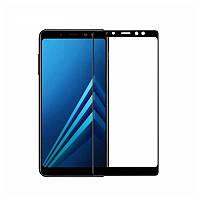 Захисне скло Glass Samsung A730 Galaxy A8 Plus 2018 9D black