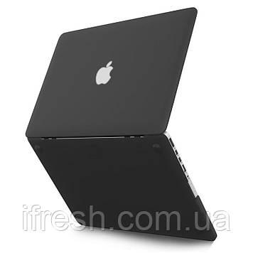 Чехол HardShell MacBook PRO 13 2016/2017/2018, MATTE BLACK