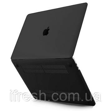 Чехол HardShell MacBook PRO 15 2016/2017/2018, MATTE BLACK