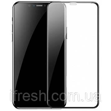 Защитное стекло Baseus для iPhone XR Full coverage curved, Black (SGAPIPH61-KC01)
