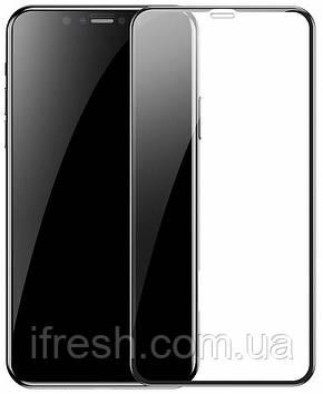 Защитное стекло Baseus Full Screen Pet Soft 0.23mm iPhone XR, Black (SGAPIPH61-PE01)