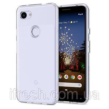 Чехол Spigen для Google Pixel 3a XL Liquid Crystal, Crystal Clear (F22CS25958)