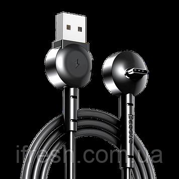 Кабель Baseus Maruko Video USB Type-C 1м, Black (CATQX-01)