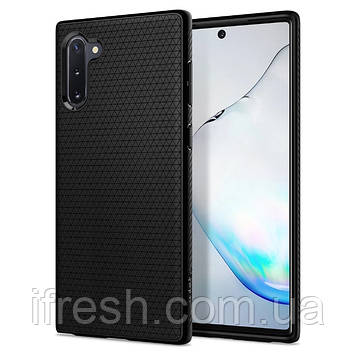 Чехол Spigen для Samsung Galaxy Note 10 Liquid Air, Matte Black (628CS27373)