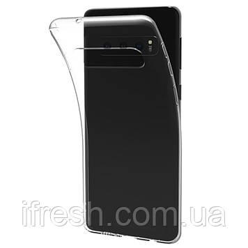 Чехол Ou Case для Samsung Galaxy S10e Unique Skid Silicone, Transparent