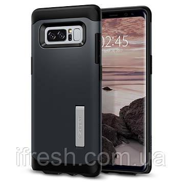 Чехол Spigen для Samsung Note 8 Slim Armor, Metal Slate (587CS21834)
