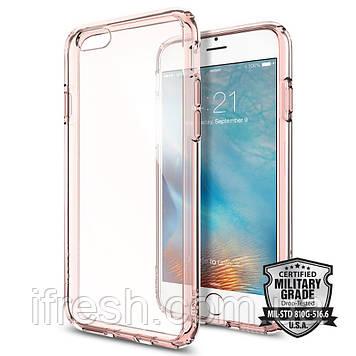 Чехол Spigen для iPhone 6s/6 Ultra Hybrid, Rose Crystal (SGP11722)
