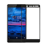 Захисне скло Glass Nokia 7 9D black
