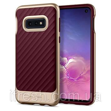 Чехол Spigen для Samsung Galaxy S10е Neo Hybrid, Burgundy (609CS25847)