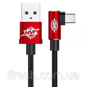 Кабель Baseus для iPhone/iPad/iPod Lightning 2м MVP Elbow, Red (CALMVP-A09)