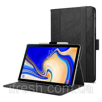 Чехол Spigen для Samsung Galaxy Tab S4 Stand Folio, Black (598CS24415)