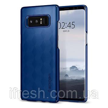 Чехол Spigen для Samsung Note 8 Thin Fit, Deep Sea Blue