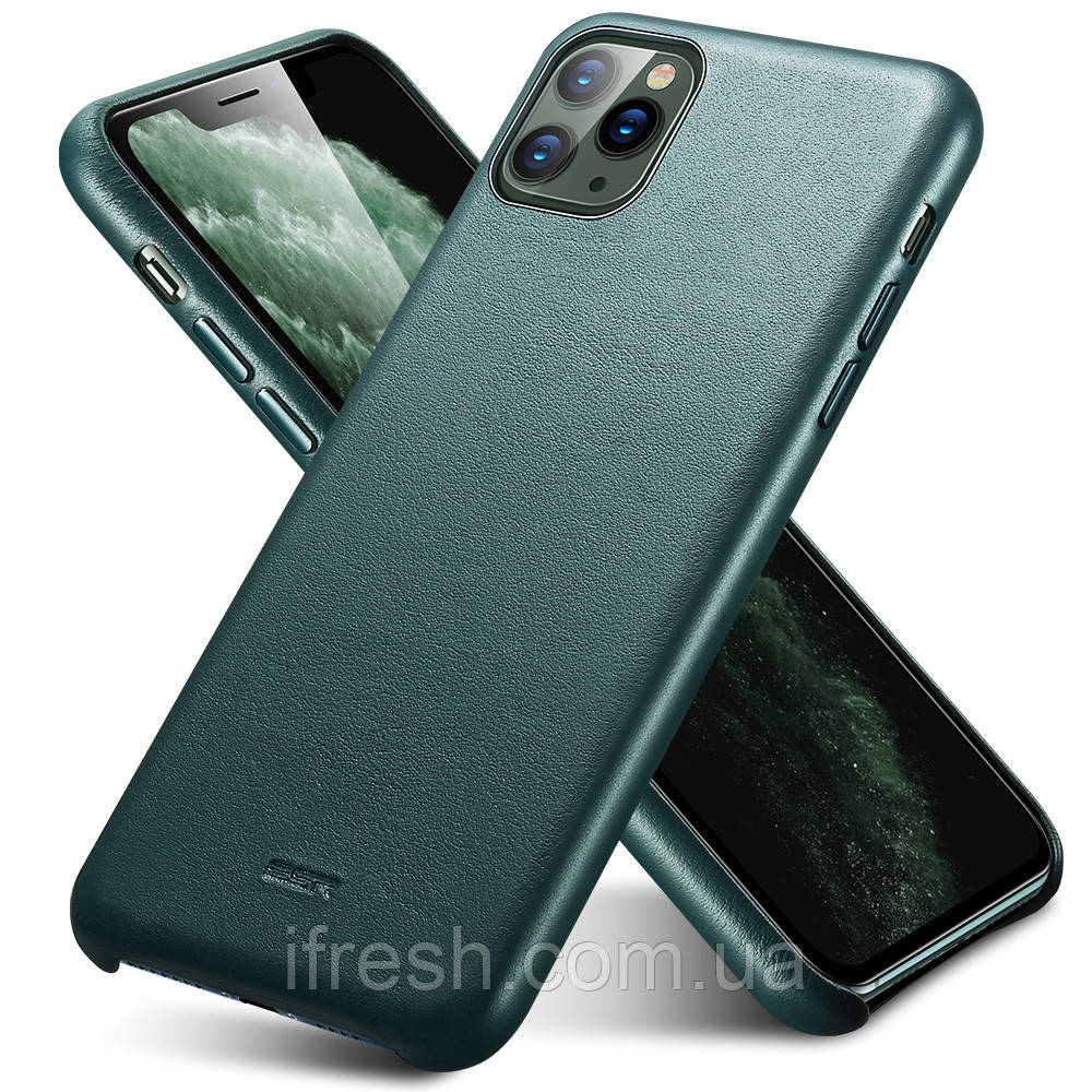 Чехол ESR для iPhone 11 Pro Metro Premium Leather, Pine Green (3C01192250201)