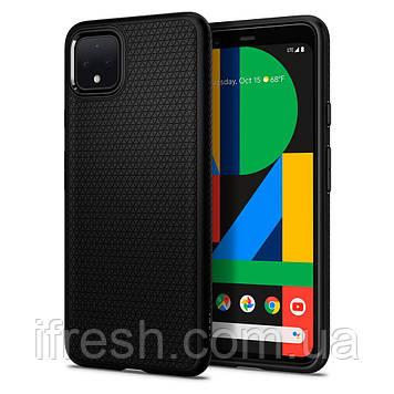 Чехол Spigen для Google Pixel 4 XL Liquid Air, Matte Black (F25CS27547)