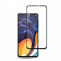 Захисне скло Glass Samsung A60 Full Glue black
