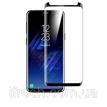 Защитное стекло King Kong для Samsung S8 , 5D, Full Glue , Black