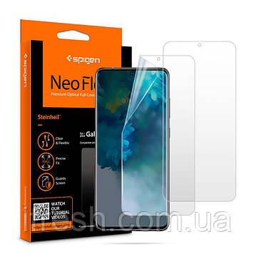 Защитная пленка Spigen для Samsung Galaxy S20 Neo Flex (1шт) (AFL00906)