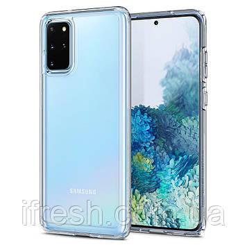 Чехол Spigen для Samsung Galaxy S20 Plus Ultra Hybrid, Crystal Clear (ACS00755)