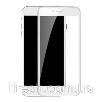 Защитное стекло 5D King Kong для iPhone 6s / 6 с защитной сеткой на динамик, White