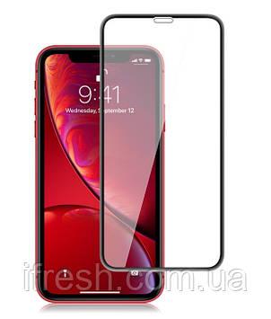 Защитное стекло Lion для iPhone 11\XR 3D Perfect Protection Full Glue, Black