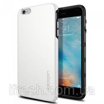 Чехол Spigen для iPhone 6S Plus/6 Plus Thin Fit Hybrid, White (SGP11733)