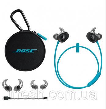 Наушники-гарнитура BOSE SoundSport wireless, Aqua (761529-0020)