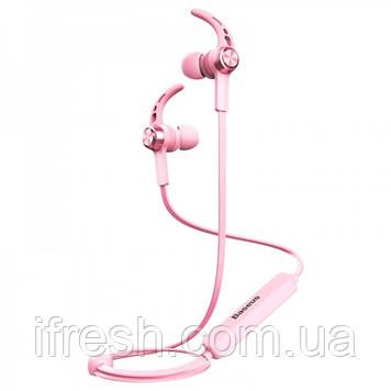 Наушники Bluetooth Baseus Licolor Magnet B11, Sakura Pink (NGB11-04)