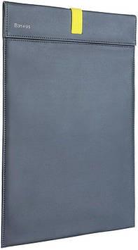 Чехол Baseus для Macbook Let''s go Traction Computer Liner Bag (16 inches), Grey+Yellow (LBQY-BGY)