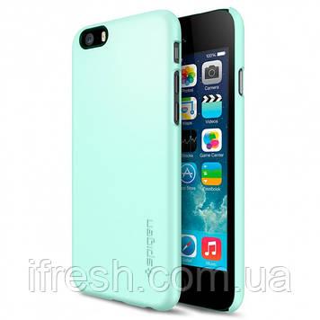Чехол Spigen для iPhone 6s / 6 Thin Fit, Mint
