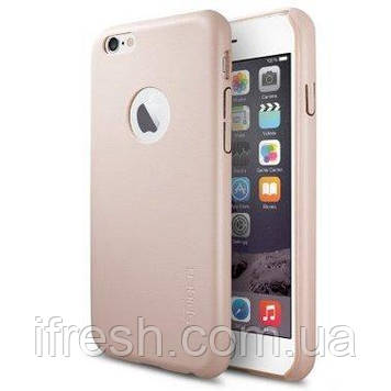 Чехол Spigen для iPhone 6s / 6 Leather Fit