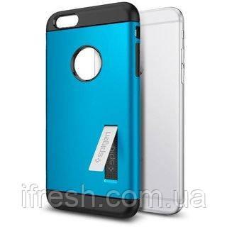 Чехол Spigen для iPhone 6s Plus / 6 Plus Slim Armor, Electric Blue