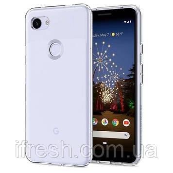 Чехол Spigen для Google Pixel 3a Liquid Crystal, Crystal Clear (F23CS25961)