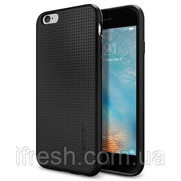 Чехол Spigen для iPhone 6s / 6 Liquid Air, Smooth Black (SGP11751)