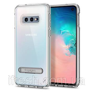 Чехол Spigen для Samsung Galaxy S10e Ultra Hybrid S, Crystal Clear (609CS25840)