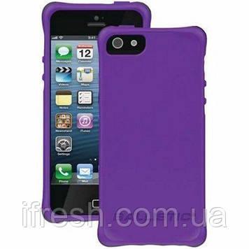Чехол противоударный Ballistic для iPhone 5/ 5S/ SE Smooth Series, Purple