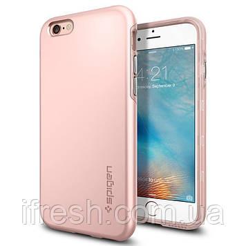 Чехол Spigen для iPhone 6s / 6 Thin Fit Hybrid, Rose Gold
