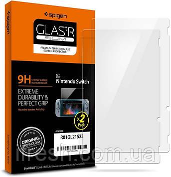 Защитное стекло Spigen для Nintendo Switch, 2шт (R01GL21523)