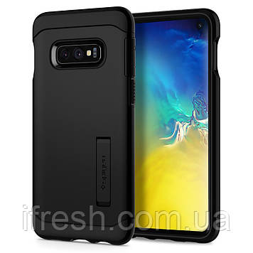 Чехол Spigen для Samsung Galaxy S10e Slim Armor, Black (609CS25921)