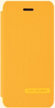 Чехол-книжка Viva Madrid для Apple iPhone 5/5S Sabio Linea, Orange (VIVA-IP5SBO-PNIORG)