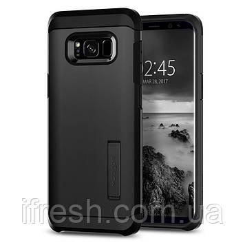 Чехол Spigen для Samsung S8 Plus Tough Armor, Black