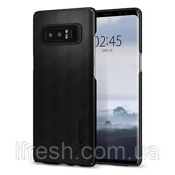 Чехол Spigen для Samsung Note 8 Thin Fit, Matte Black