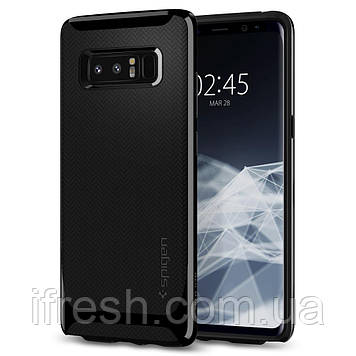 Чехол Spigen для Samsung Note 8 Neo Hybrid, Shiny Black