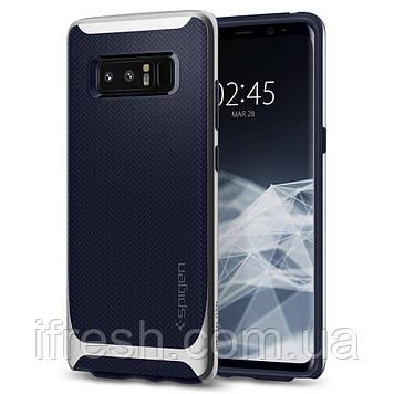 Чехол Spigen для Samsung Note 8 Neo Hybrid, Arctic Silver