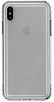Чехол Baseus для iPhone Xs Max Airbag Case, Transparent Black (ARAPIPH65-SF01)
