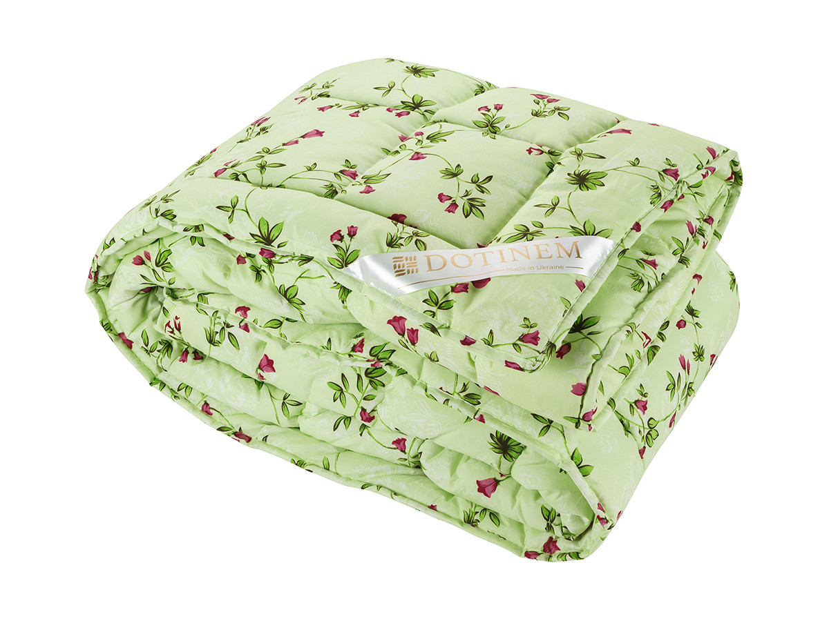 Одеяло теплое зимнее холлофайбер полутороспальное 145х210 RIVERTON