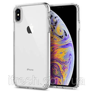 Чехол Spigen для iPhone XS Max Ultra Hybrid, Crystal Clear (065CS25127)